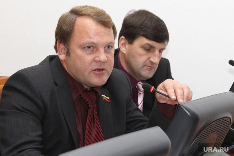 Совместное заседание комитетов областной Думы  Курган, ярославцев федор