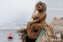 Эротика. Скульптуры. Челябинск., русалка, сиськи