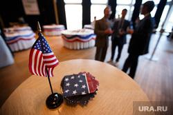 День независимости США в Хаятте. Екатеринбург, американский флаг, сша