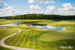 Pine Creek Golf Club. Верхняя Сысерть, поле, природа, гольф, pine creek golf club, спорт, экология