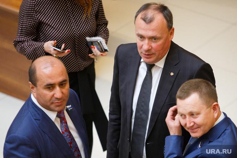 Бюджетное послание губернатора на первом заседании заксобрания СО. Екатеринбург , карапетян армен, орлов алексей