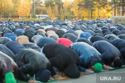 Курбан Байрам. Сургут, молитва, мечеть, ислам, мусульмане