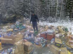 В Тюмени трассу залило пивом, ДТП Красное и Белое