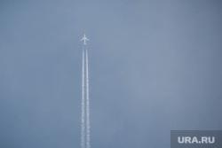 Клипарт по теме Аэропорт. Екатеринбург, небо, взлет, самолет