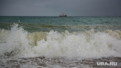 Клипарт. Коктебель, море, прибой, природа крыма, волна, шторм