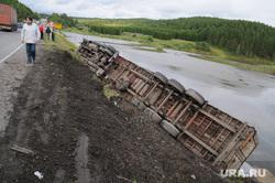ДТП. Аварии. Челябинск., большегруз, фура, грузовик, м5, авария