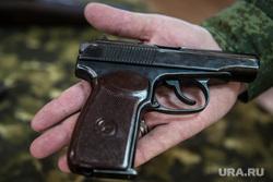 Евгений Куйвашев в Хомутовке., пм, пистолет макарова