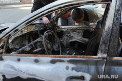 Машина сгорела. Пожар. Екатеринбург., машина, пожар, авто