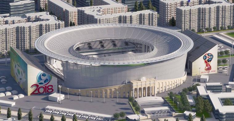 Стадион в екатеринбурге к чм 2019 года - КалендарьГода