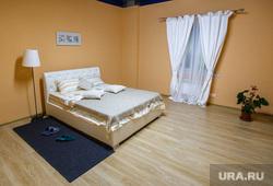 Визит Куйвашева в Нижний Тагил, спальная, кровать, интерьер, недвижимость, квартира