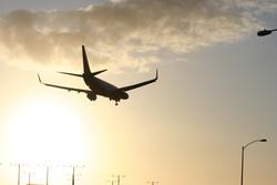 Открытая лицензия на 04.08.2015. Самолеты. , закат, самолет