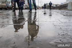 Грязь на улицах Екатеринбурга, грязь на дороге