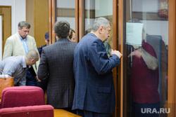 Судебное заседание во Дворце правосудия по беспорядкам на овощебазе №4. Екатеринбург