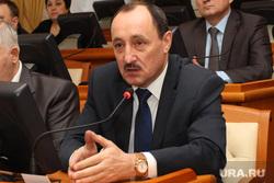 Заседание правительства области Курган, поршань александр