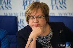 Пресс-конференция по беженцам в ИТАР-ТАСС. Екатеринбург, мерзлякова татьяна, портрет