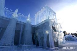 Ледовый городок. Пермь, ледовый городок