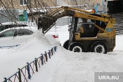 Уборка города от снега Курган, уборка снега, мксм