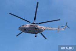 Учения МЧС Курган, вертолет мчс