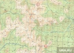 Труп на перевале Дятлова, карта, домик у горы Моттевчахль, турист-одиночка Олег, перевал дятлова, гора моттевчахль, гора оттортен, гора хоталчахль