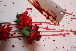 Открытая лицензия на 04.08.2015. Нож. Кровь., нож, кровь, убийство, уголовное, криминал