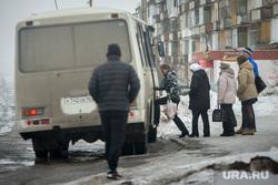 Клипарт. Свердловская область, рейсовый автобус, остановка