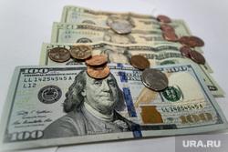 Клипарт., доллары, деньги, валюта