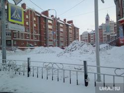 Снежные улицы Салехард