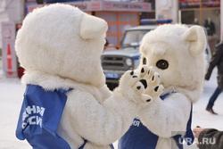 День рождения единой россии. Кировка. Челябинск., единая россия, белый медведь
