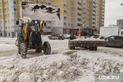 Зимние неубранные дороги (реинкарнация). Екатеринбург, бульдозер, уборка снега, грязный снег