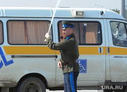 Южноуральский ТЛК. Челябинск., инвалид, казак, сабля
