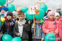 Ханымей-Муравленко, 4 сентября,рабочая поездка Кобылкина, школьники, дети