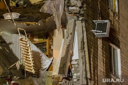 Обрушение дома по Харьковской, 52а. Тюмень, обрушение дома