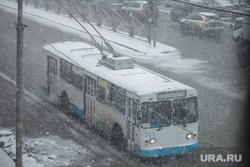 Заседание Заксобрания Свердловской области. Екатеринбург, троллейбус, снегопад