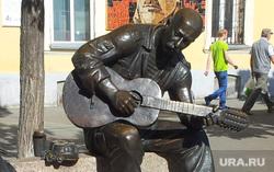 Челябинск. Кировка, скульптура, памятник розенбауму