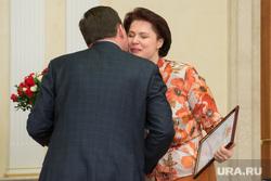 Встреча губернатора с победителями выборов в гордуму Режа. Екатеринбург, капустина мария