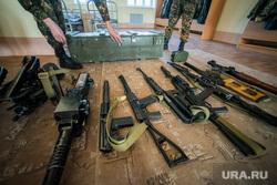 Евгений Куйвашев в Хомутовке., оружие, арсенал