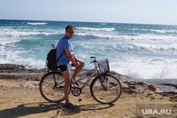 Кипр, море, велосипед, кириллов александр