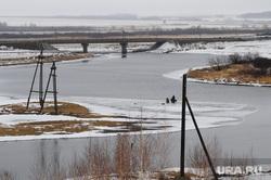 Архив. Паводок. Челябинск., река, миасс, весна