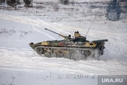 Свердловский полигон., военная техника, бмп