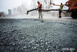 Ямочный ремонт на ул. Бычковой. Екатеринбург, дорожные работы, щебень, дорожное покрытие