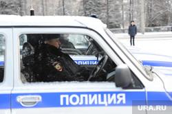 Полиция. Челябинск., полицейская машина, автомобиль