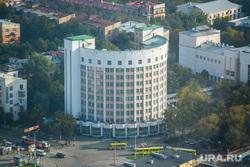 Клипарт. Екатеринбург, гостиница исеть, вид сверху