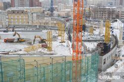 Вторая реконструкция Центрального стадиона Екатеринбурга, центральный стадион, строительные работы