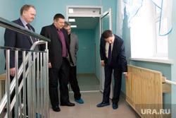 Открытие детского сада Курган, батарея