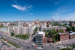 Виды города. Пермь, город пермь, вид сверху
