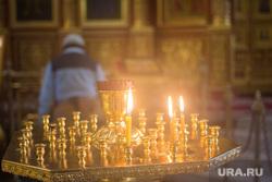 Храм Воскресения Христова. Ханты-Мансийск, свечи, храм, молитва, церковь, вера, христианство, религия, православие