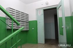Дом по ул Чкалова 3 Курган, коридор, почтовые ящики
