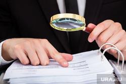 Клипарт депозитфото, проверка, бухгалтерия, документы, аудит, финансовая отчетность, лупа