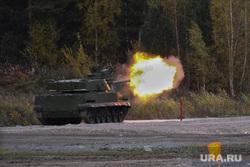 Выставка вооружений Russia Arms Expo-2013. RAE. Нижний Тагил, военная техника, испытательный полигон, танк, выстрел