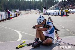 Летний биатлон. Чемпионат мира-2014. Тюмень, усталость, спортсмен, летний биатлон